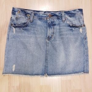 Polo Jean's Co. Gigi jean mini skirt